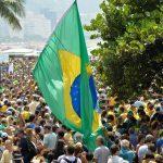 Thousands of protestors in Rio de Janeiro