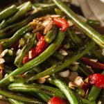Green Bean and Roasted Red Pepper Salad