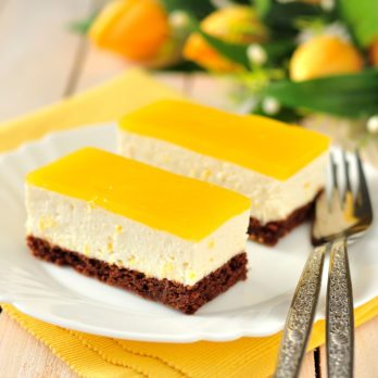 Double-Lemon Cheesecake Bars