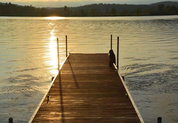 Dock at Lake Kamaniskeg