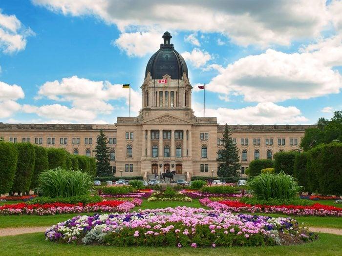Legislative Assembly, Regina, Sask.
