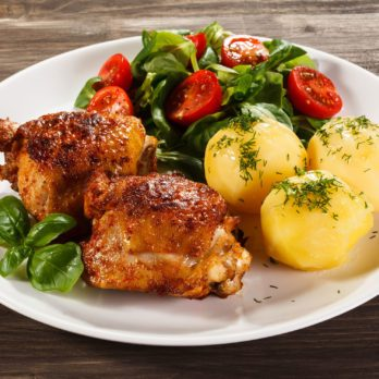 Roasted Dijon Chicken