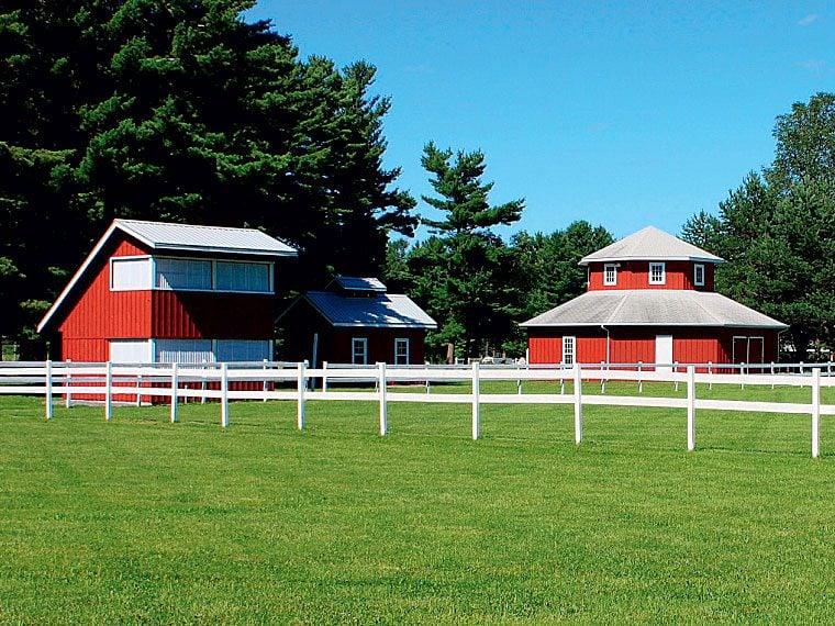 Fairgrounds in Williamstown, Ontario.