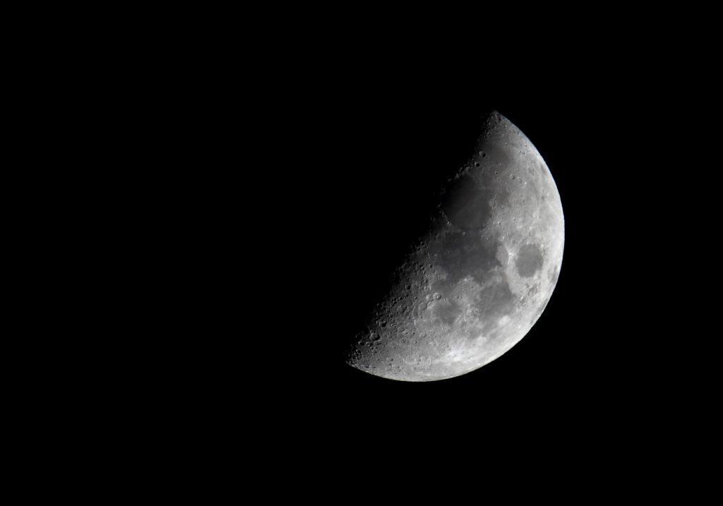 Moon at Regina, Saskatchewan