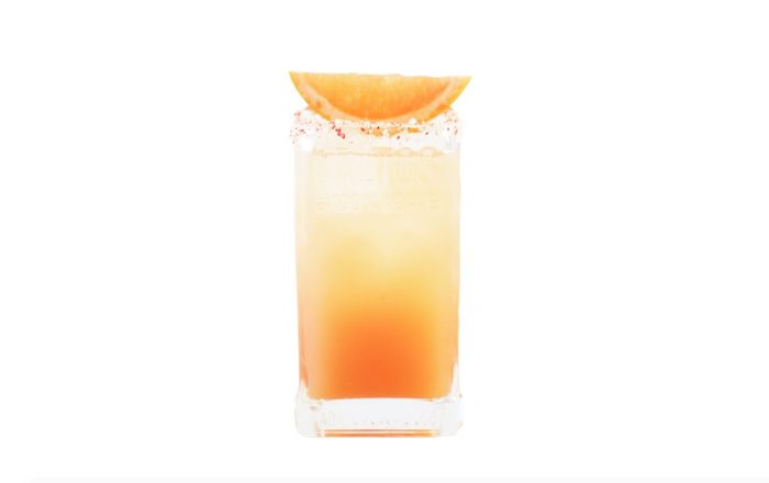 Paloma cocktail made with Altos tequila
