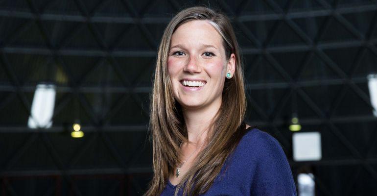 Rocket scientist Natalie Panek
