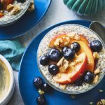 Overnight Steel-Cut Oats with Chia