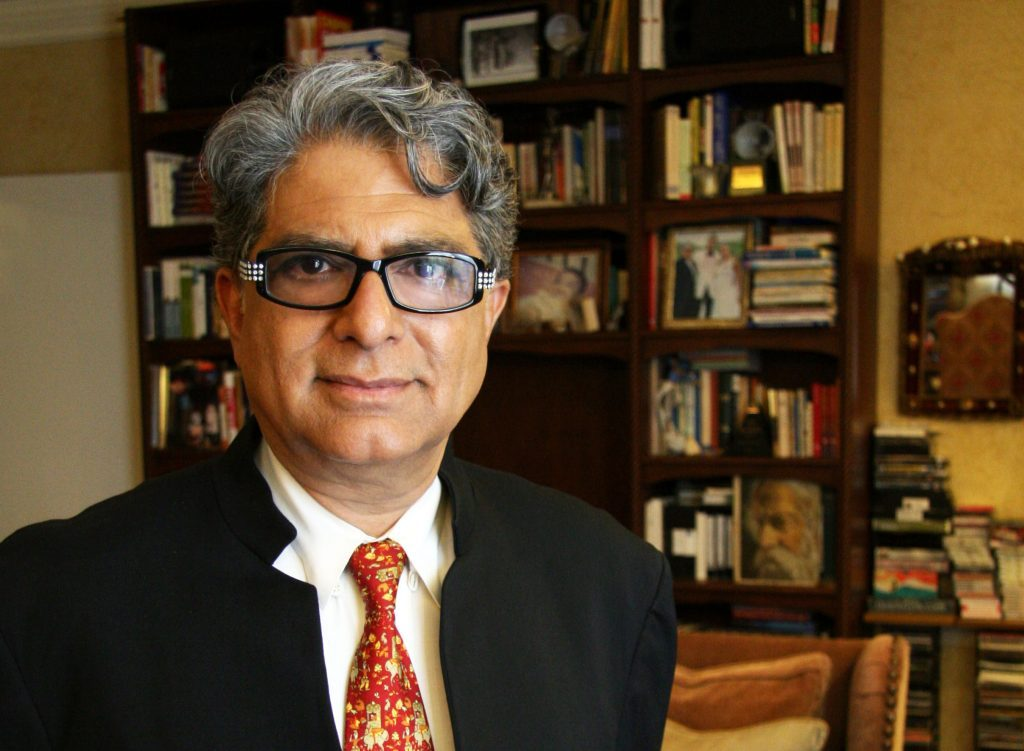 New Age guru Deepak Chopra in an office