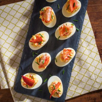 Lynn Crawford's Lobster Deviled Eggs