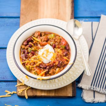 Smoky Beef Chili with Kidney Beans