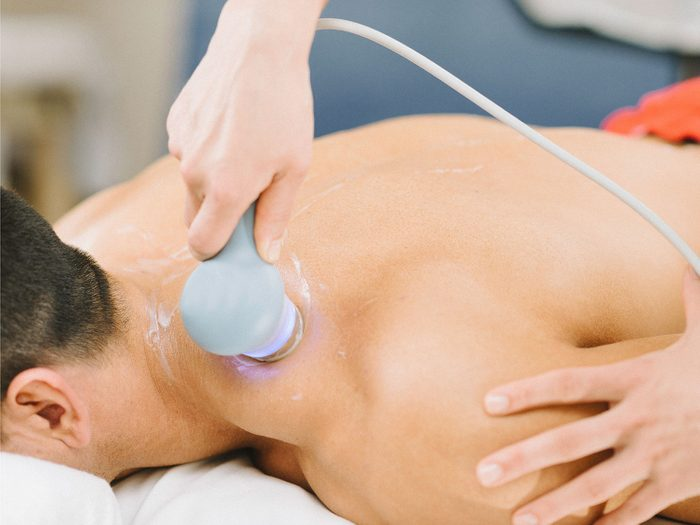 Ultrasound as pain management therapy