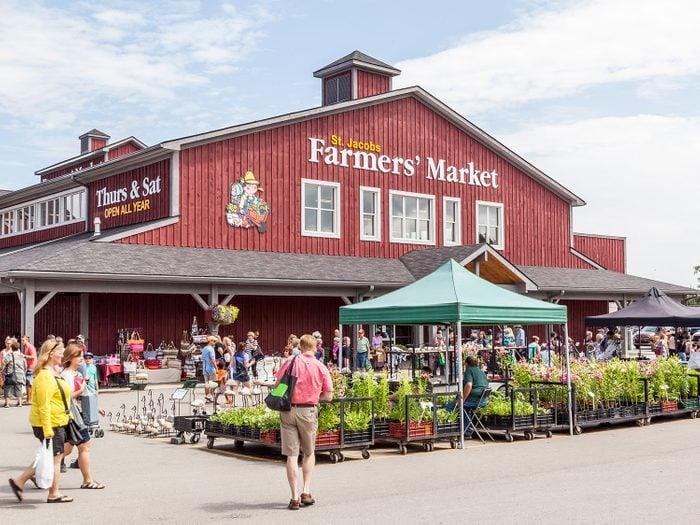 St. Jacobs Farmers' Market, Waterloo Region