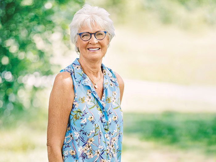 Margareta Nordell was fortunate to take part in a trial of a new therapy to cure breast cancer.
