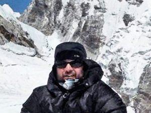 Man on Everest