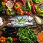 Diabetes diet made up of vegetables, fish and olive oil