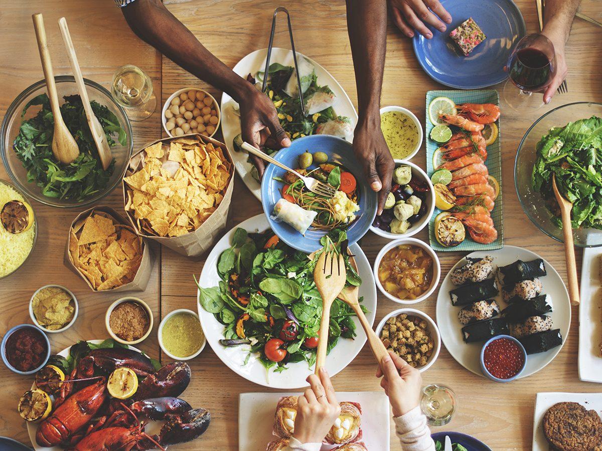 How to improve gut health - diverse diet