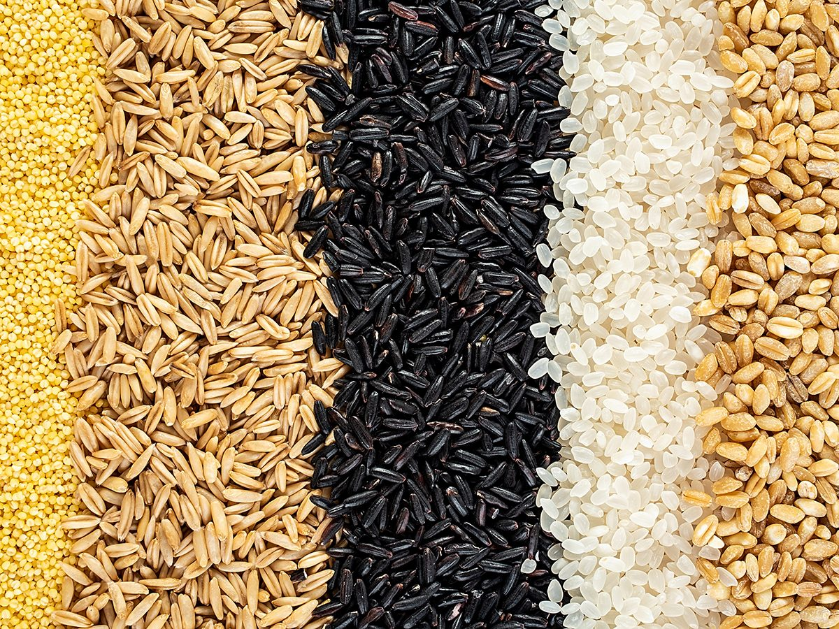 How to improve gut health - whole grains