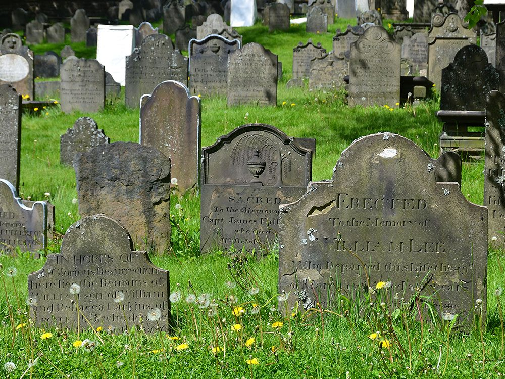 Old Burying Ground, Halifax