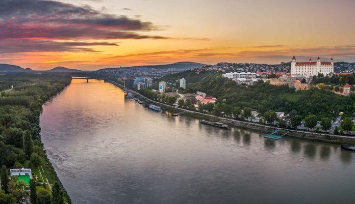 Danube River in Austria