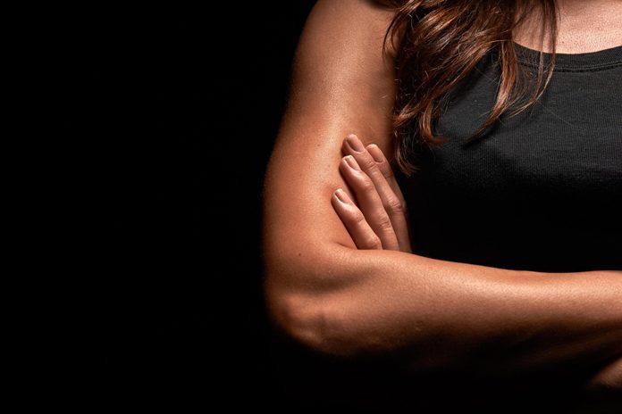 Woman's bicep