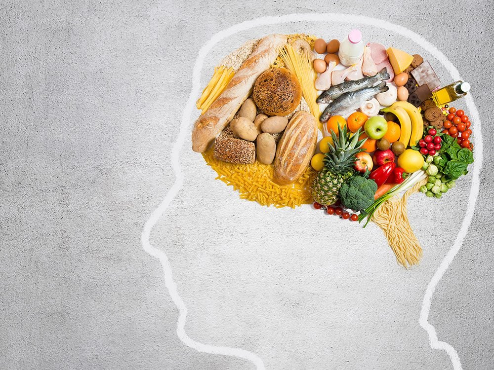 Feeding the brain with healthy food