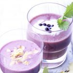 Wild Blueberry Apple Smoothie