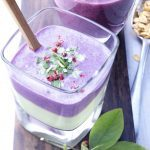 Wild Blueberry Banana Smoothie