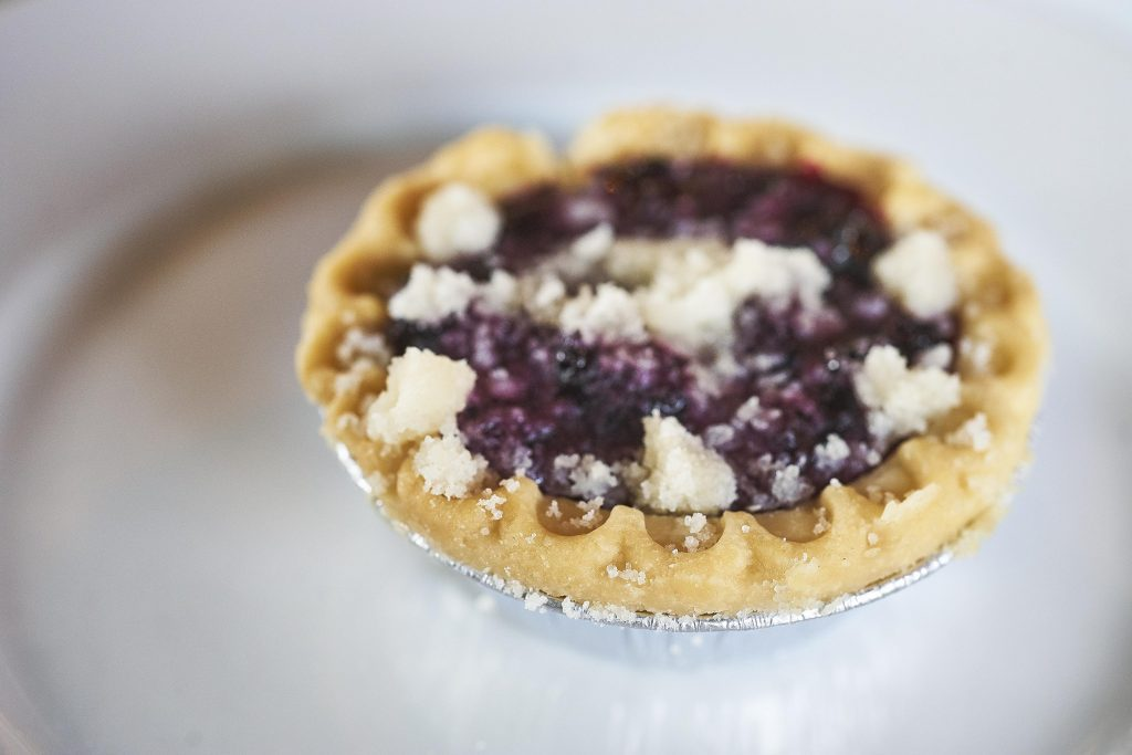 Wild Blueberry Tarts