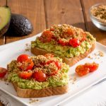 Avocado Toast with Savoury Oat Crumble