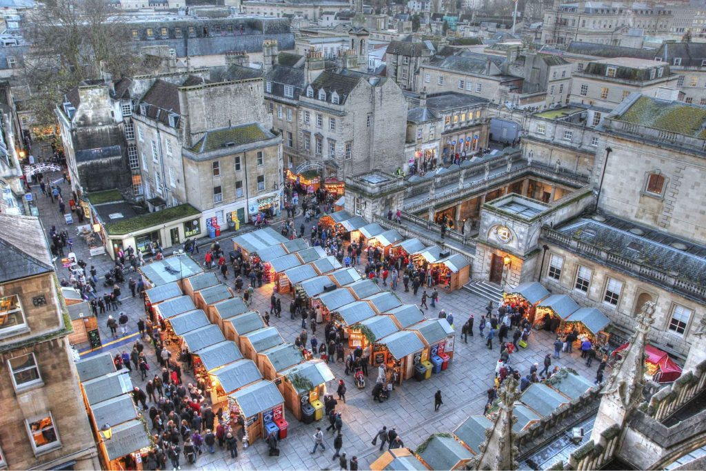 Christmas Market in Bath, United Kingdom