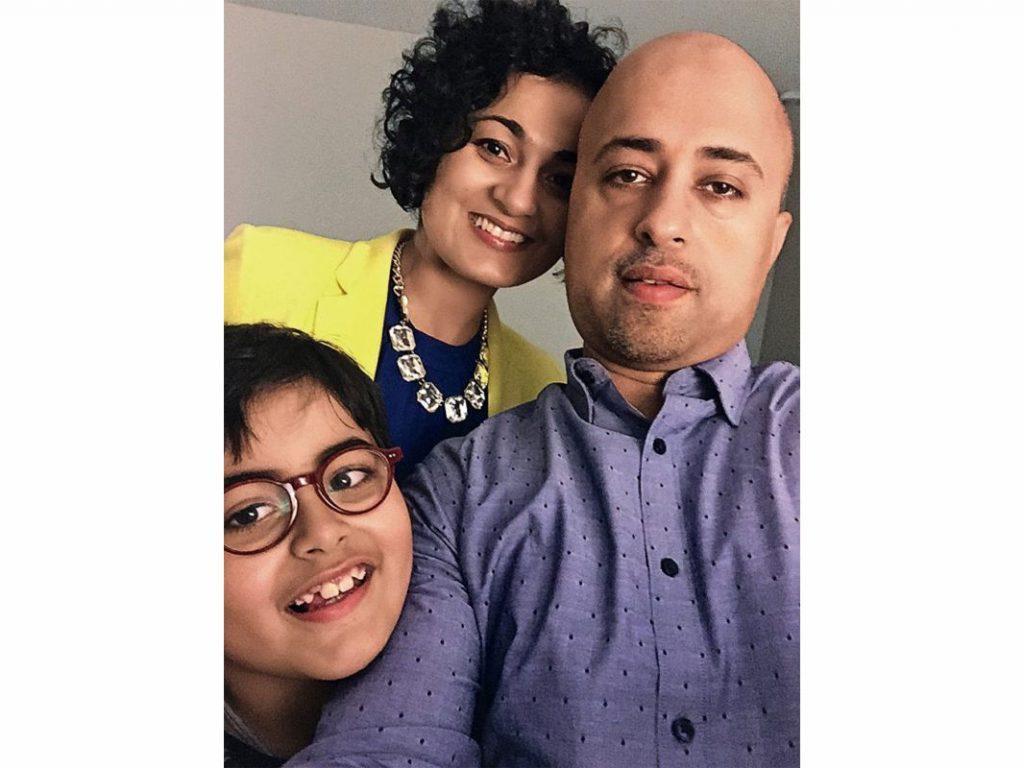 Priyanka R. Mehandiratta and family