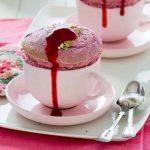 Hot Raspberry Soufflés