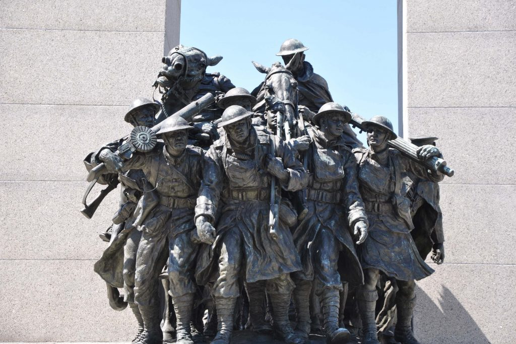 National War Memorial in Ottawa, Ontario