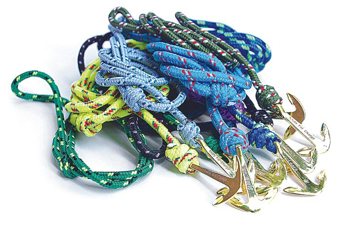 Knots for Change bracelets with anchors