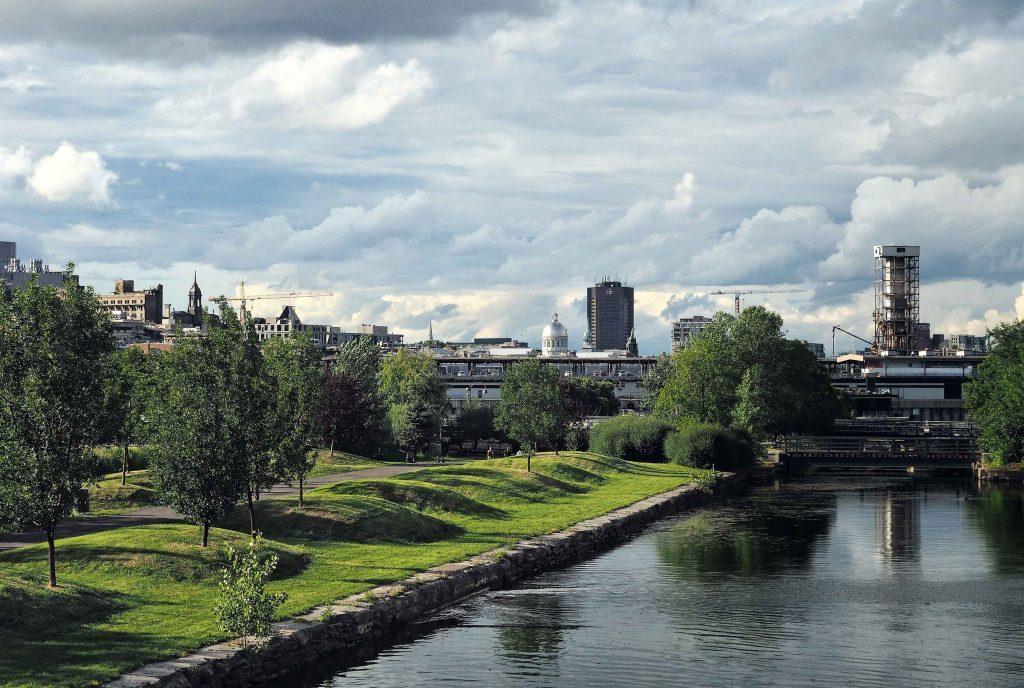 View of Parc des Ecluses