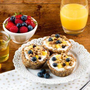 No-Bake Granola and Yogurt Tarts