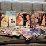 Magazines and books about Queen Elizabeth II