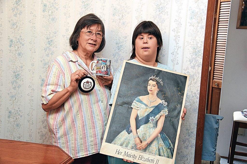 Rose Mak with her daughter, Leah