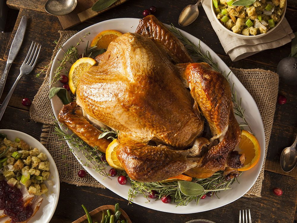 Moist and delicious looking turkey