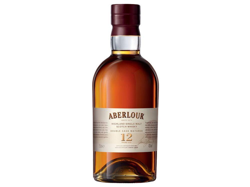 Aberlour scotch bottle