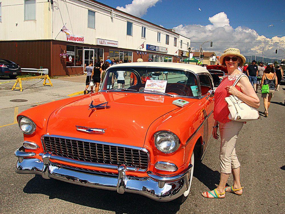 Orange Chevrolet