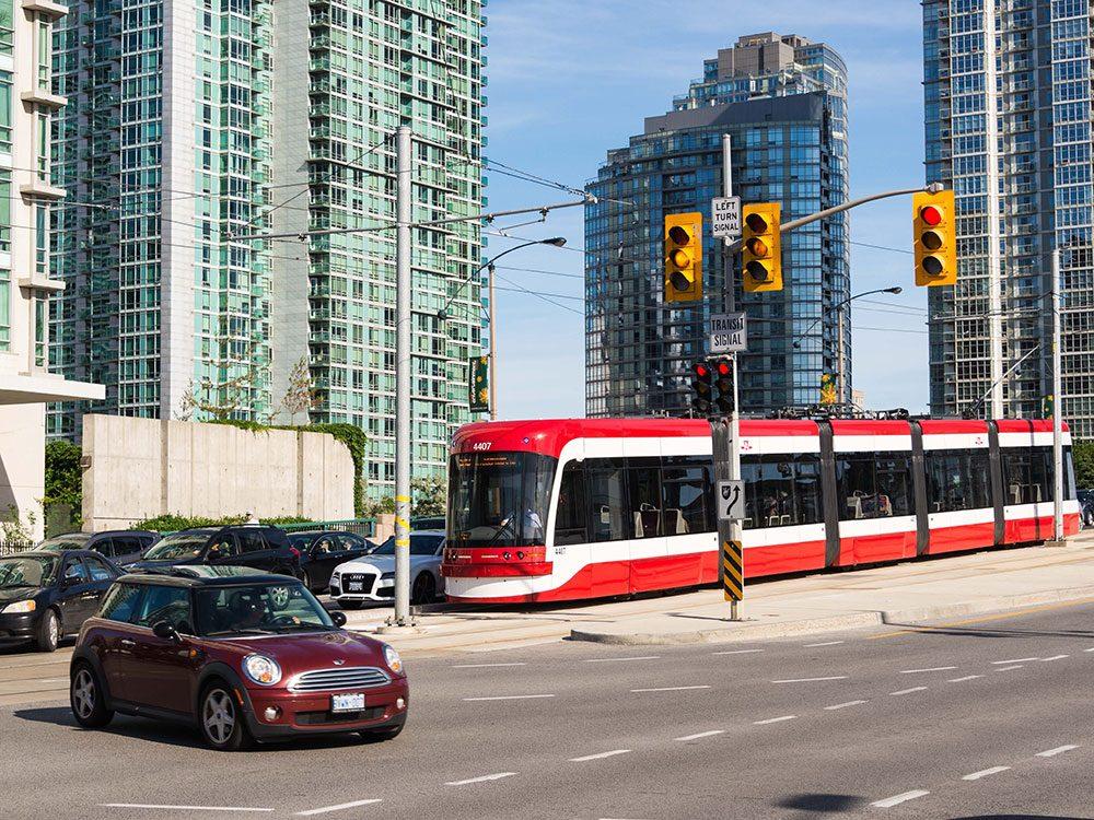 New Toronto Transit Commission (TTC) streetcar