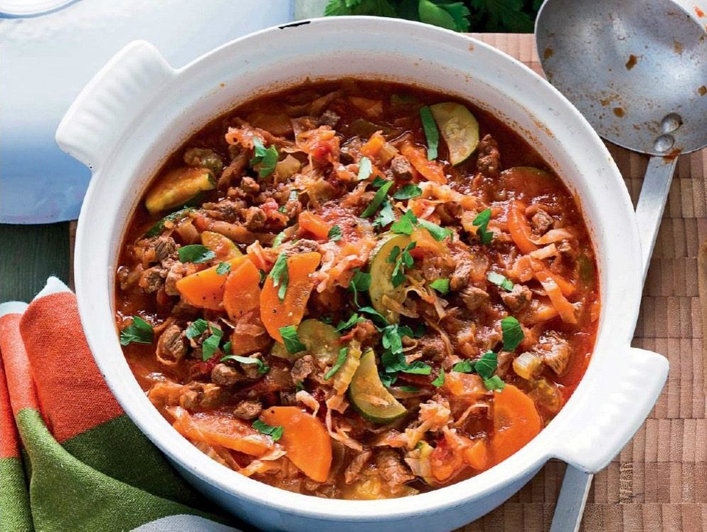 Beef and Vegetable Soup | Reader's Digest