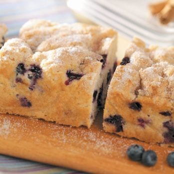 Blueberry Coffee Cake with Struessel