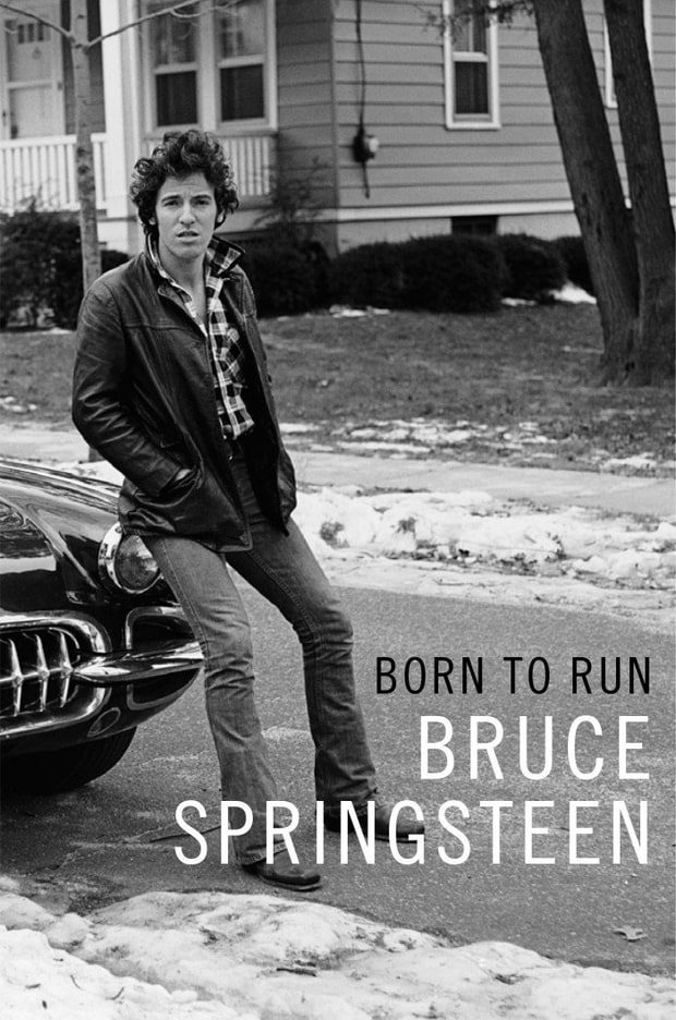 Cover of Born to Run by Bruce Springsteen