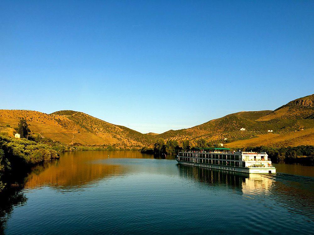 European river cruise boat
