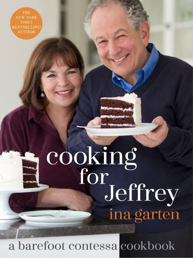 Cover of Ina Garten's Cooking for Jeffrey