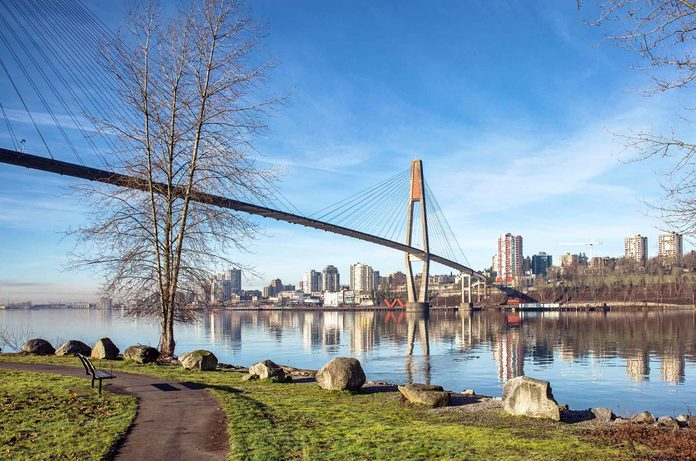 New Westminster in British Columbia