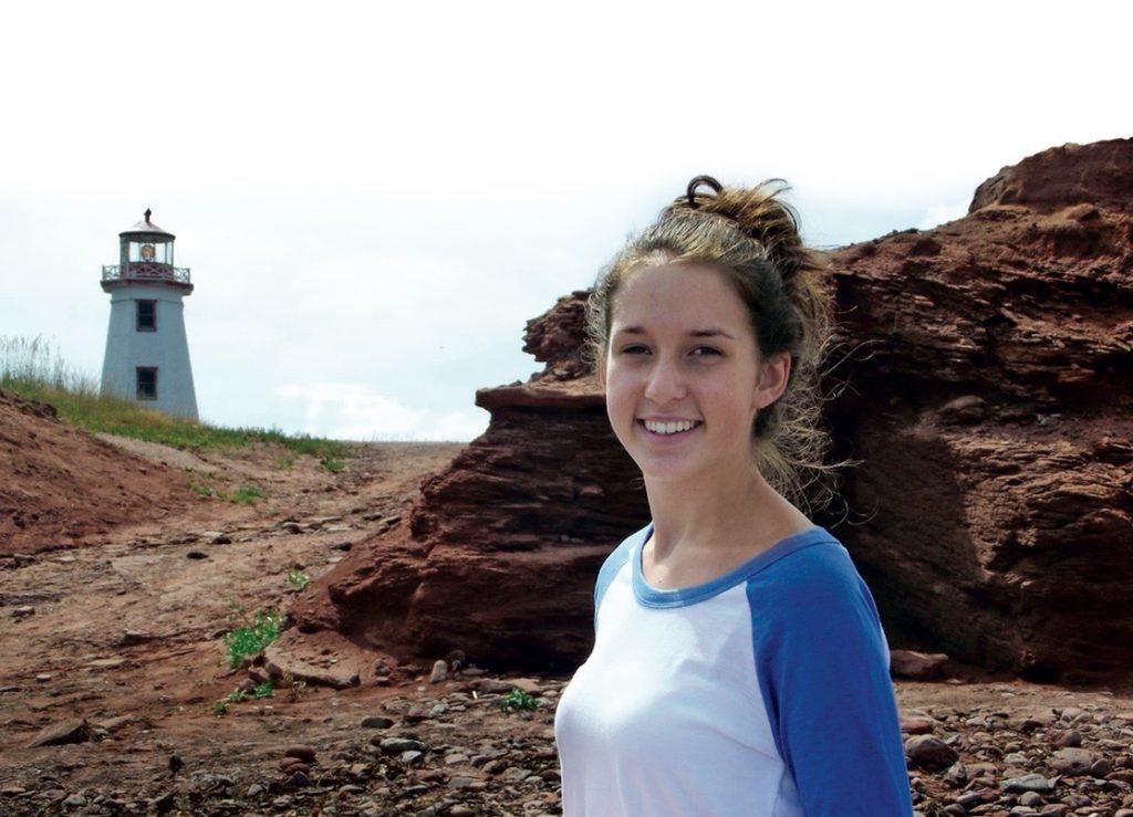 Karen MacCarville's daughter, Rebecca