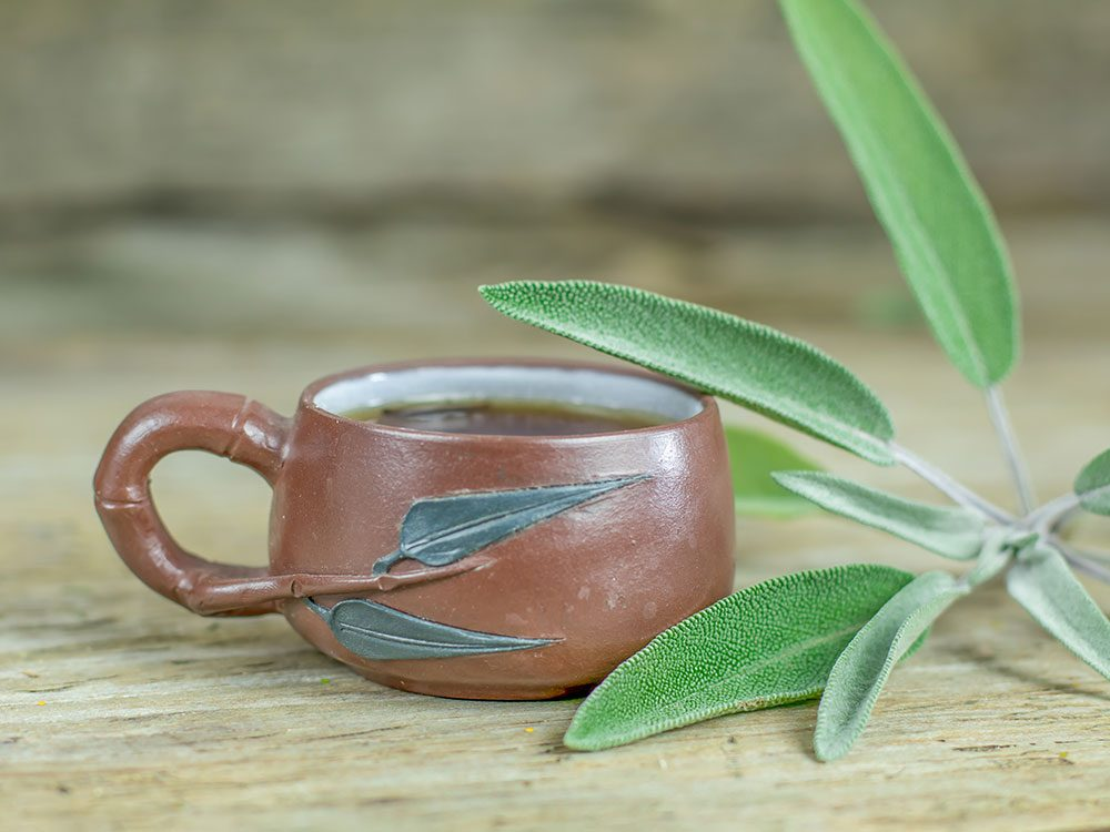 Sage tea herb